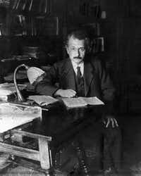 By the time Albert Einstein turned 40 in 1919, he had already developed his general theory of relativity.(The Associated Press)