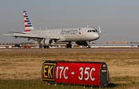 American Airlines is among the U.S. carriers that have complained about the Persian Gulf rivals. (Ron Baselice/Staff Photographer)
