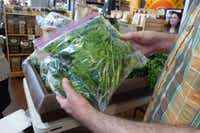Market Provisions carries local produce seven days a week, including this field greens mix from Comeback Creek Farm near Pittsburg. (Kim Pierce/Special Contributor)
