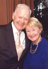 Nancy Ann and Ray Hunt have given $65 million to the program.(Methodist Hospital)