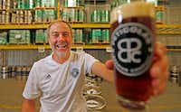 "Michael Peticolas, owner of Peticolas Brewing Company, said the tax cuts would produce ""absolutely massive reinvestment.""(Jae S. Lee/Staff Photographer)"