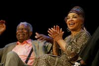 Ossie Davis and Ruby Dee are shown in an undated photo. (The New York Times)