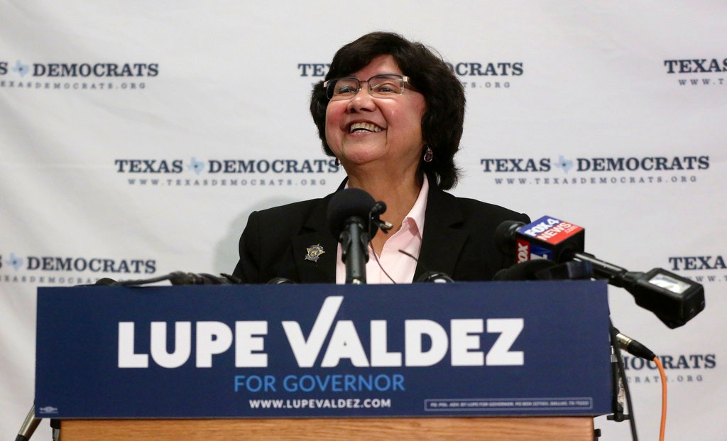 Image result for Lupe Valdez