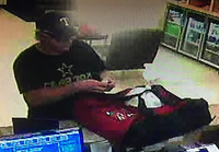 Lewisville police say this man stabbed and robbed another delivery driver Nov. 26.(Lewisville Police Department)