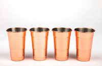 Fred & Friends copper cups(Ashley Landis/Staff Photographer)