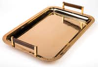 Copper tray from TJ Maxx(Ashley Landis/Staff Photographer)