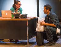 Melisa Pereyra and Franco Gonzalez in the regional premiere of Tanya Saracho's <i>Fade. </i>(Robert W. Hart/Special Contributor)