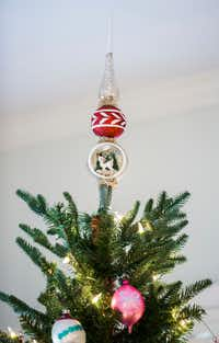 A collection of vintage Christmas ornaments and decorations(Ashley Landis/Staff Photographer)