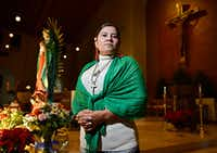 Elena Garcia is president of the Legion of Mary at Mary Immaculate Catholic Church in Farmers Branch.(Ben Torres/Special Contributor)