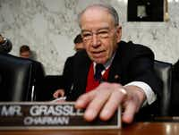 Sen. Chuck Grassley, R-Iowa, has stressed that President Donald Trump has pledged support for ethanol.(Carolyn Kaster/The Associated Press)