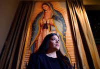 Lisette Moreno has attended the novenas at the Cathedral Shrine of the Virgin of Guadalupe in downtown Dallas for 14 years. (Ben Torres/Special Contributor)