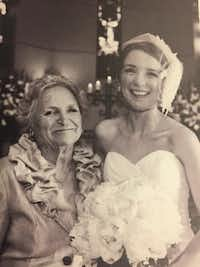 Nancy McCall (left), Nanette Light's grandmother, poses with Light at her wedding on June 11, 2011. (Provided by Nanette Light)