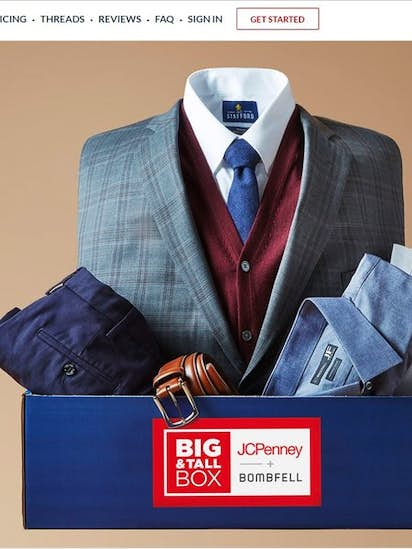 f891891b J.C. Penney enters subscription business for big and tall men with  Bombfell.com