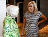 <p></p><p>Madeline McClure (right) talked with Ginny Whitehill at the Dallas Women's Foundation Leadership Forum & Awards Dinner VIP reception in July. McClure is one of the 2017 Maura Women Helping Women Awards recipients.</p><p></p>(Vernon Bryant/Staff Photographer)