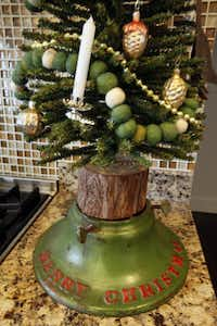 "Even the tree stands are special at Jason McDaniel's <span style=""background-color: transparent; font-size: 0.6875rem;""> home.</span>(Ron Heflin)"