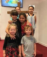 "<p><span style=""font-size: 1em; background-color: transparent;"">Bottom row: Brooke and Ryland Ward, both 5. Middle row: Haley Ward and Emily Garza, 7. Top row: Rhianna Garza and McKinley Ward, 9. Brooke Ward and Emily Garza were killed in the shooting at the First Baptist Church of Sutherland Springs on Nov. 5, 2017.</span></p>(Michael Ward)"