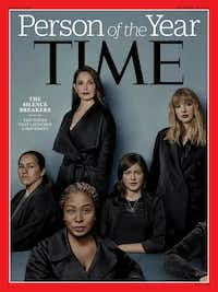 "Time magazine's cover featuring ""The Silence Breakers"" includes a woman in the lower right corner from Texas who wanted to remain anonymous."