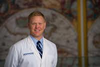 <p>Dr. Matthew Carlson, assistant professor of obstetrics and gynecology at UT Southwestern Medical Center in Dallas.</p>(Brian Coats Photography)