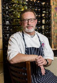 Brian Luscher, owner of The Grape restaurant.(Ashley Landis/Staff Photographer)