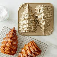 Tree cake pan by Nordic Ware. (Williams-Sonoma)