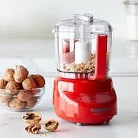 Cuisinart Elite Mini Prep Food Processor, 3-Cup in red.(Williams-Sonoma)