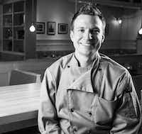 Chef Nick Harrison of STIRR in Dallas.(Joey Stewart/Special Contributor)