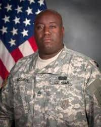 Former U.S. Army Sgt. 1st Class Gregory McQueen, who military prosecutors said ran a prostitution ring at Fort Hood for a month or two that took advantage of cash-strapped female soldiers.(U.S. Army)