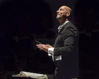 Dallas Opera Music Director Emmanuel Villaume in 2016.(Karen Almond)