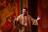 Lou Diamond Phillips starred in Rodgers & Hammerstein's 'The King and I' on Broadway and later at Nancy Lee and Perry R. Bass Performance Hall in Fort Worth June 7, 2006. .(Nathan Hunsinger)