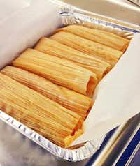 Tamales from Becerra's Tamales and Salsa are available at St. Michael's Farmers Market.(Becerra's Tamales and Salsa)