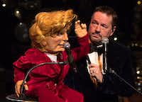 Ventriloquist Terry Fator performs a special holiday show through Dec. 30 that will appeal to the whole family (and includes a special appearance by Fator's version of Donald Trump).(Tom Donoghue)