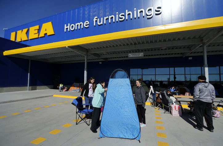 Why Does Ikea Have People Lining Up Before Its Grand Prairie Opening