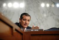 """<p>Sen. Ted Cruz said that on tax policy, it's """"counterproductive for any of us to be drawing red lines.""""</p>(Carolyn Kaster/The Associated Press)"""