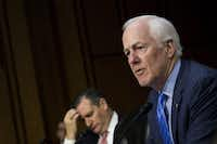 """Sen. John Cornyn said that Cruz has been """"very much a team player"""" in the GOP's efforts to revamp the tax code.(Drew Angerer/Getty Images)"""
