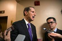 "Sen. Ron Wyden, D-Ore., has spoken out against some of Cruz's tax policy pushes, calling the Texan's school-related amendment ""nothing less than a backdoor assault on the public K-12 education system."" (J. Scott Applewhite/The Associated Press)"