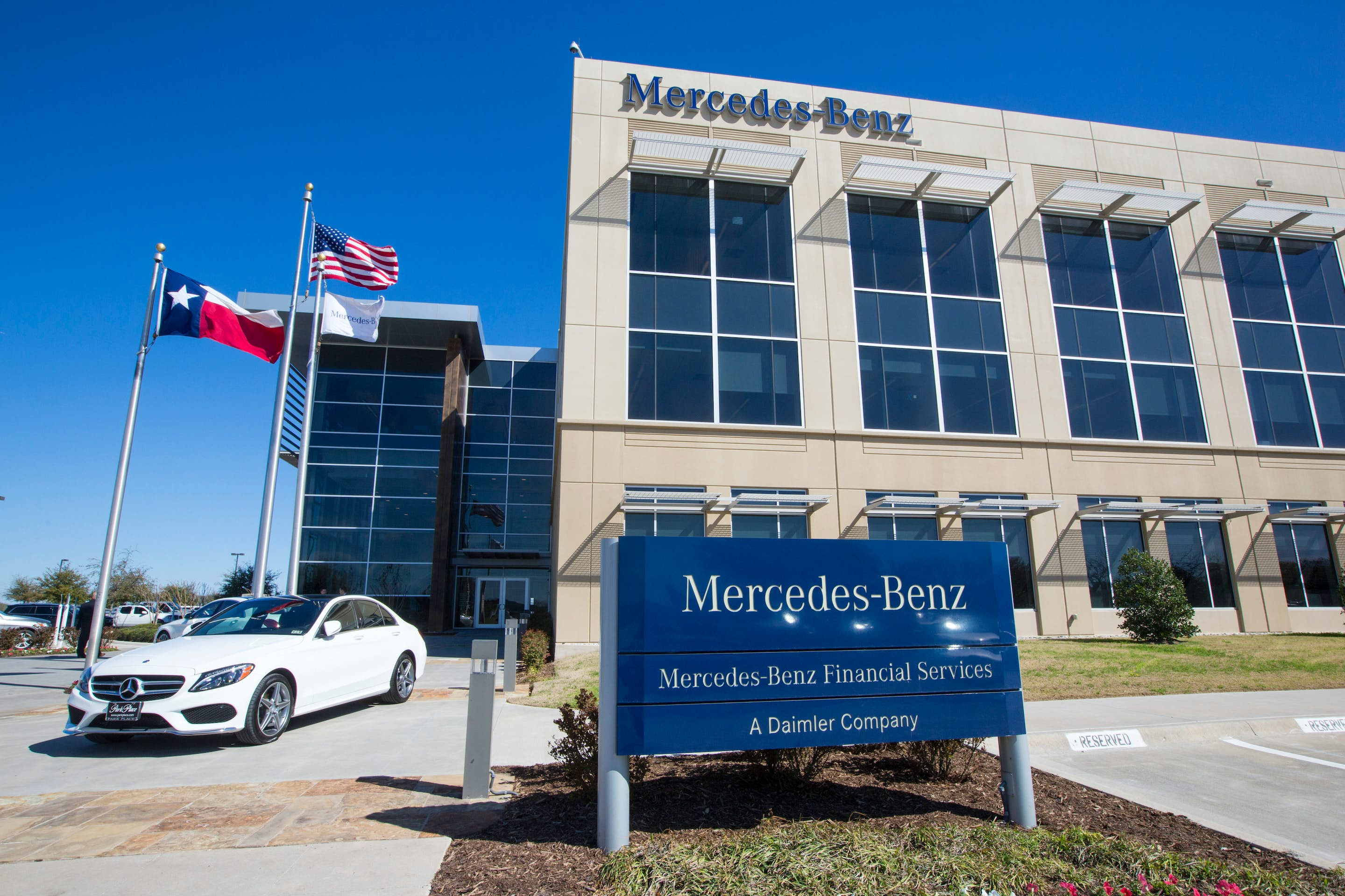 Mercedes benz financial will grow its north fort worth for Mercedes benz service dallas tx