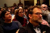 "<p>More than 100 people came out to <span style=""font-size: 1em; background-color: transparent;"">Arts Mission Oak Cliff on Dec. 11 to discuss sexual harassment in the theater community. </span></p>(Lawrence Jenkins/Special Contributor)"
