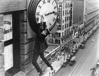 Harold Lloyd in <i>Safety Last.</i>  (Criterion Collection)