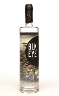 Blk Eye vodka is made in Fort Worth.(Vernon Bryant/Staff Photographer)