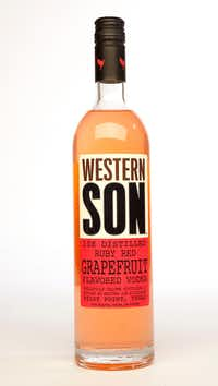 Western Son vodka is made in Pilot Point(Vernon Bryant/Staff Photographer)