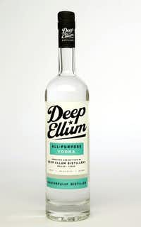 Deep Ellum vodka (Vernon Bryant/Staff Photographer)