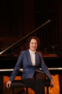 "<p>Carol Leone, the chair of piano studies and professor of piano at Southern Methodist University, said that  <span style=""font-size: 1em; background-color: transparent;"">""alternatively sized"" or ""ergonomically scaled"" keyboards renewed her life and career. </span></p>(Andy Jacobsohn/Staff Photographer)"