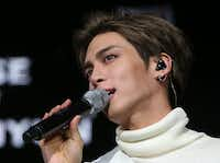This undated picture released by Yonhap news agency in Seoul on December 18, 2017 shows Kim Jong-Hyun, singer of popular K-pop group SHINee. The singer died on December 18 in an apparent suicide, police said. Investigators believe he died from inhaling toxic fumes, as they discovered coal briquettes burnt on a frying pan upon arriving at the apartment.  / AFP PHOTO / YONHAP / - /  - South Korea OUT / REPUBLIC OF KOREA OUT  NO ARCHIVES  RESTRICTED TO SUBSCRIPTION USE    -/AFP/Getty Images(-/AFP/Getty Images)