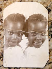 Elores Stephens  (left) and Dolores Swint grew up in Tulsa.(Courtesy of Dolores Swint)