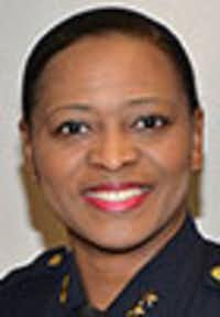 Dallas County Sheriff Chief Deputy Marian Brown, a Democrat.