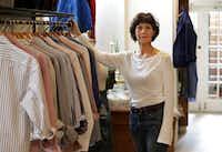 Robin Cook in her women's apparel studio, SoHo McKinney(Jason Janik/Special Contributor)