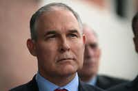 EPA Administrator Scott Pruitt was a critic of former President Barack Obama's EPA.(File Photo/Getty Images)
