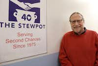 Rev. Bruce Buchanan, executive director of the Stewpot of First Presbyterian Church in Dallas poses for a portrait at the Stewpot on Dec. 6. Buchanan will retire at the end of the year after a 30-year career.(David Woo/Staff Photographer)