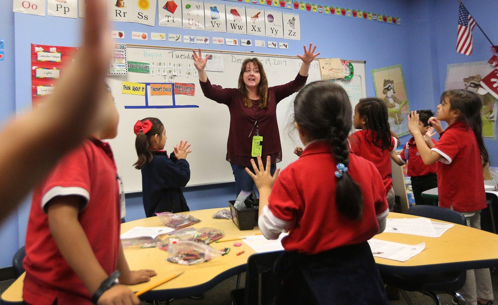Some Of Texas Most Crowded Classrooms Are In Charter Schools