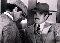 Jack Nicholson and Warren Beatty in the movie <i>The Fortune</i>, in 1975.